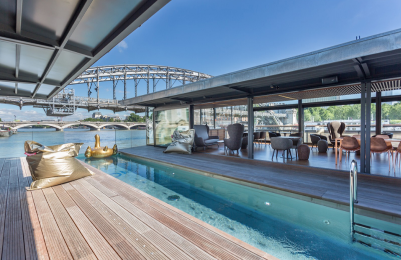 A Chic Floating Hotel is Now Open in Paris