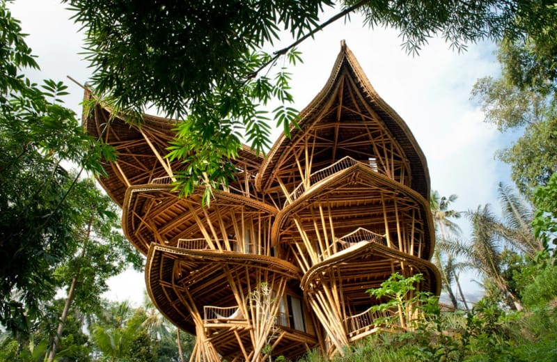 Rent Bali's Most Beautiful Tree Houses With Your Friends