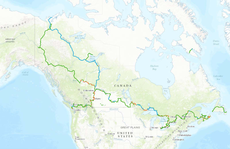The World's Longest Hiking Trail is Finally, Officially Open