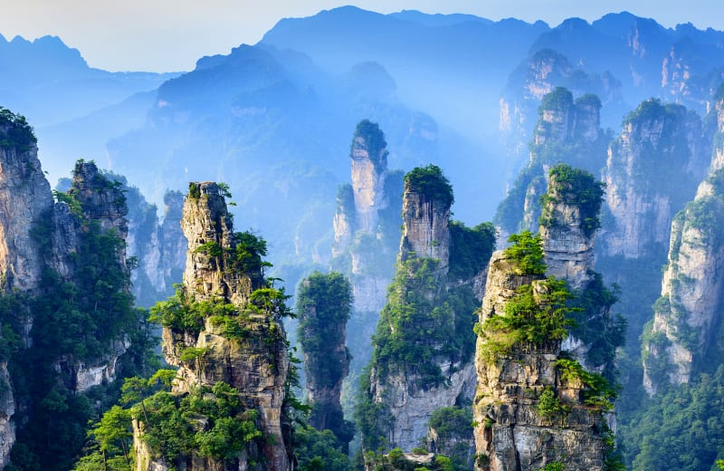 6 Crazy Beautiful National Parks in China