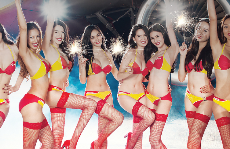 Love it or Hate it, This Airline's Bikini Uniform is Earning Them Billions