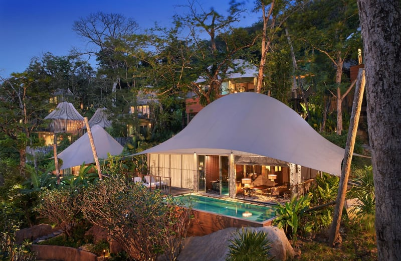 Float Above the Forest at these Gorgeous Thai Villas