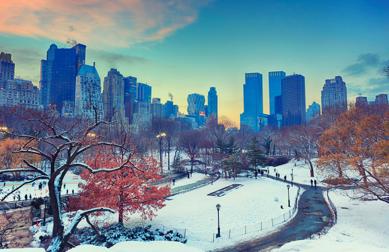 9 Cool Things To Do When It Snows In New York