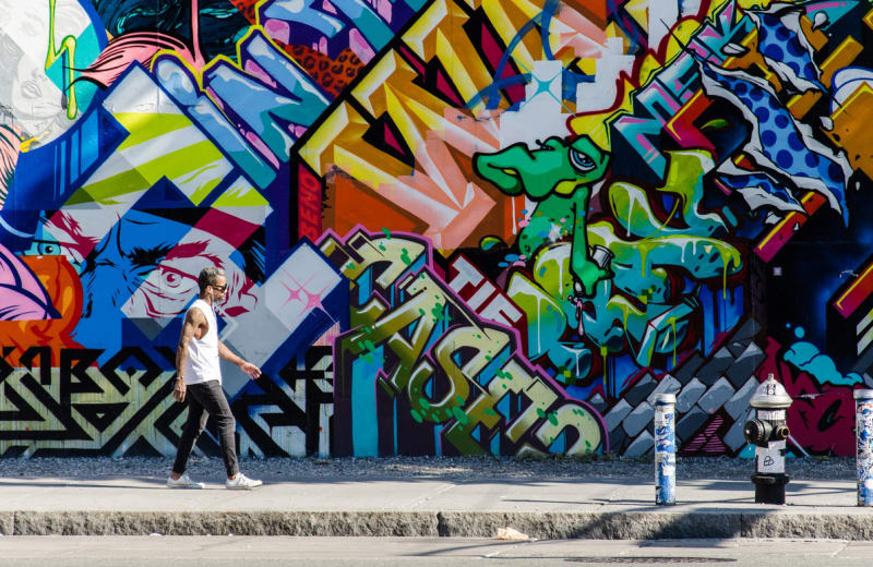 6 Coolest Neighborhoods for Street Art in the World