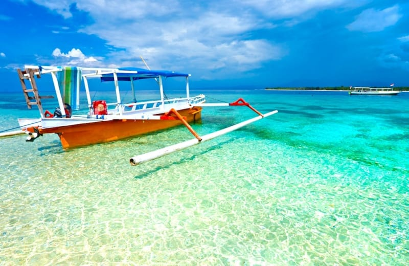 how to travel to gili air