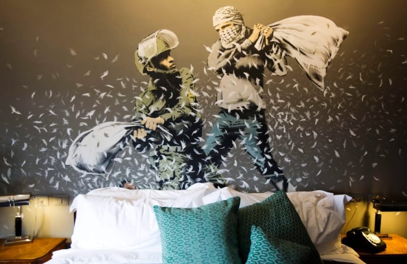 Banksy Just Opened a Hotel with the World's Worst View
