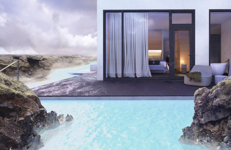 A Luxury Hotel is Opening Inside Iceland's Blue Lagoon