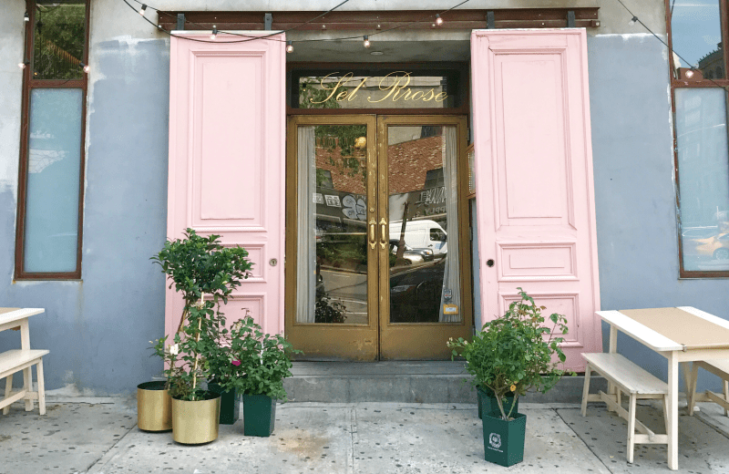 How Millennial Pink is Infiltrating the New York Dining Scene