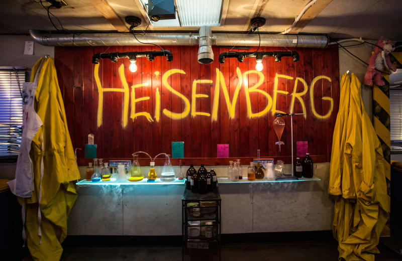 Cook Your Own Cocktails at NYC's Breaking Bad-Themed Bar