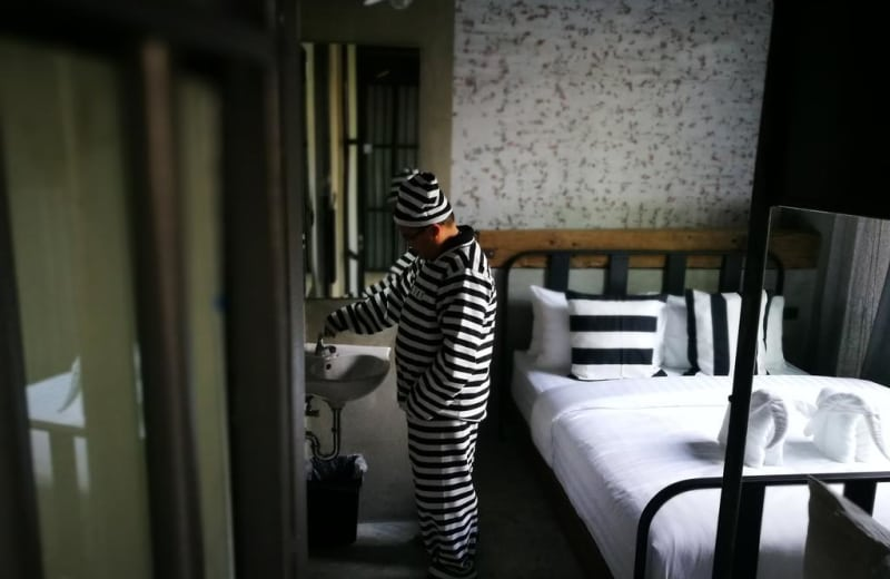 Spend a Night Behind Bars in Bangkok's New Prison-Themed Hostel