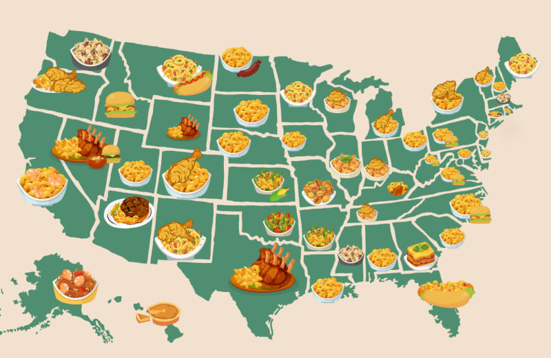 The Best Mac and Cheese in Every US State, Mapped