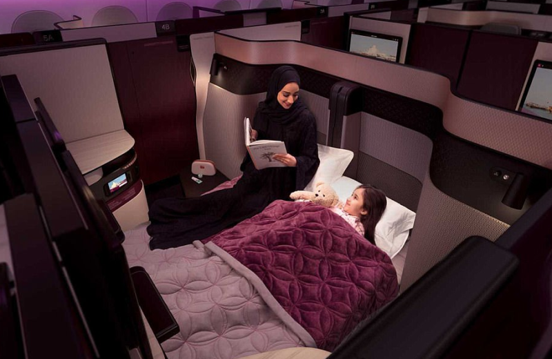 Finally, You Can Book a Double Bed on an Airplane