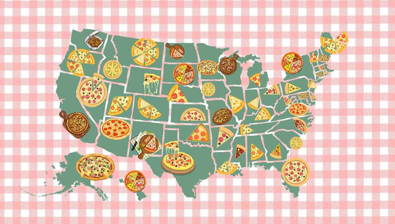 The Best Pizza Places in Every U.S. State, Mapped