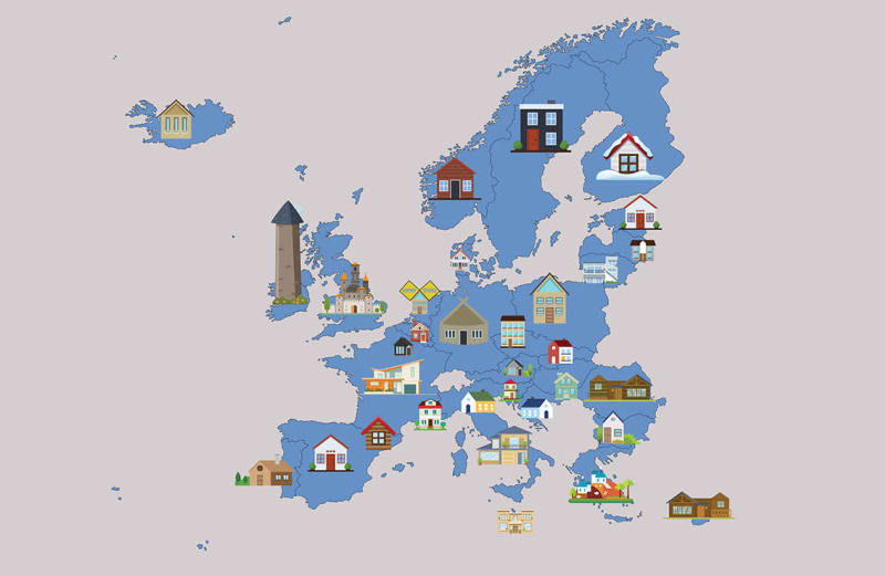 The Most Popular Airbnb in Every European Country, Mapped