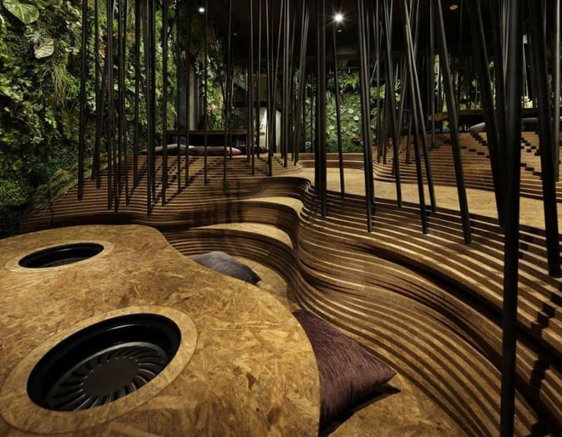 A New Restaurant in Tokyo Has its Own Indoor Forest and Cave