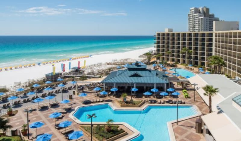 The Hilton Sandestin Beach Golf Resort & Spa: Best Florida Resort on The Emerald Coast Sand
