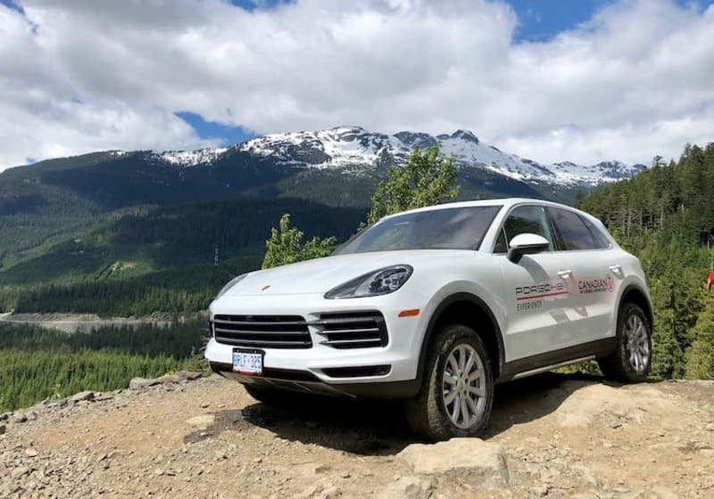 Porsche Cayenne S Rocky Mountain Adventure