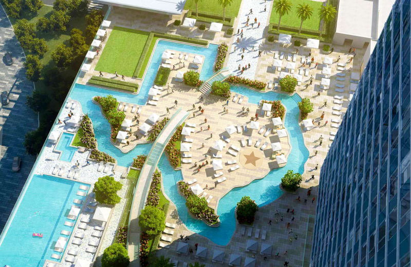 Only In Murica This New Hotel Has A Texas Shaped Pool Viva Lifestyle Travel