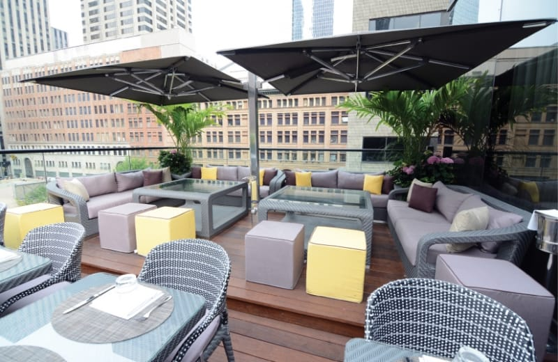 Torontos Top Rooftop Patios For A Lavish Night Out VIVA - Rooftop patios