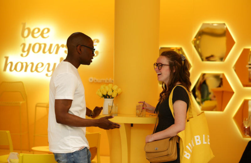 bumble just opened the hive for singles in nyc viva lifestyle travel