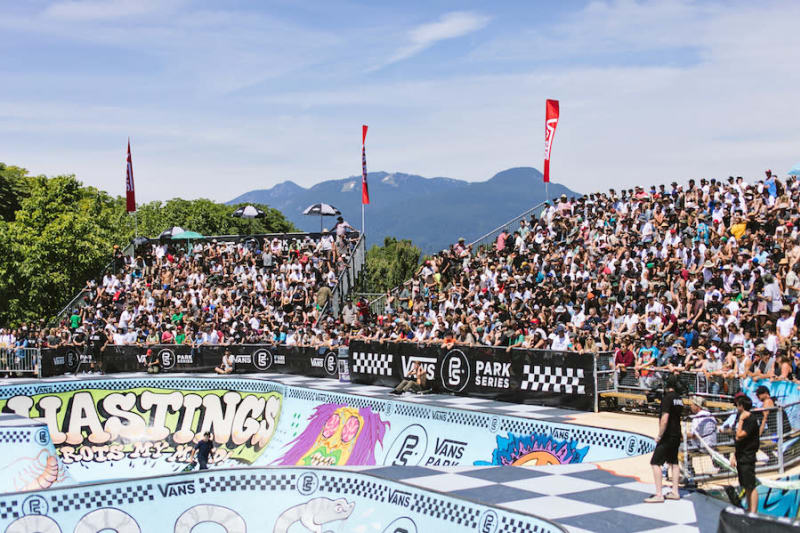 1518aa2187 Vans Park Series Live in Vancouver July 13th